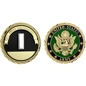 Challenge Coin U.S. Army Seal Rank First Lieutenant Coin