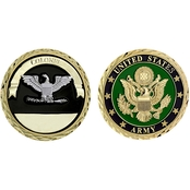 Challenge Coin U.S. Army Seal Rank Colonel Coin