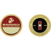 Challenge Coin USMC Rank Warrant Officer 3 Coin