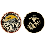 Challenge Coin USMC 29 Palms MAGTF-TC Integrated Training Exercise Coin