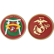 Challenge Coin 3rd Marine Logistics Group Coin