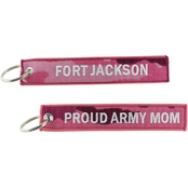 Challenge Coin Proud Army Mom Ft. Jackson Keychain