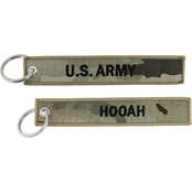 Challenge Coin Proud Army Dad Keychain