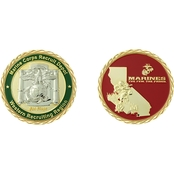 Challenge Coin USMC San Diego Recruitment Depot Coin