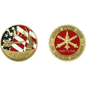 Challenge Coin Fort Hunter Ligget 75 Years Coin