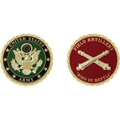 Challenge Coin Field Artillery King of Battle Coin