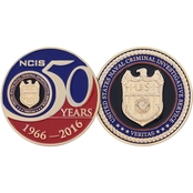 Challenge Coin NCIS 50 Years Coin