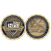 Challenge Coin NPS Post Graduate Coin