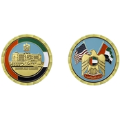 Challenge Coin United Arab Emirates Coin