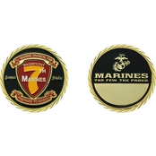Challenge Coin 7th Marines Coin