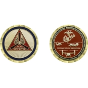 Challenge Coin MCAS New River Coin