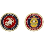 Challenge Coin USMC Camp Lejeune Coin