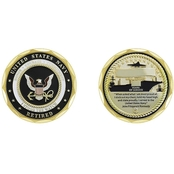 Challenge Coin U.S. Navy Retired I Stood The Watch Coin