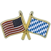 Challenge Coin US Bayern Flags Pin