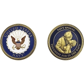 Challenge Coin Navy Homecoming Spouse Coin