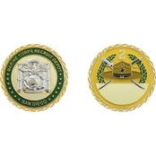 Challenge Coin USMC San Diego Recruiting Department, 2nd Battalion