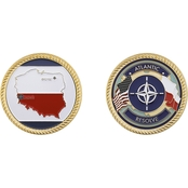 Challenge Coin Army Atlantic Resolve Poland Coin
