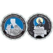Challenge Coin Fort Hunter Ligget Warex Coin