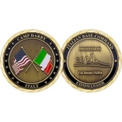 Challenge Coin Camp Darby Italian Commander Coin