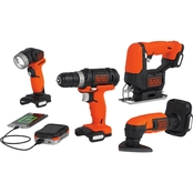 Black & Decker GoPak 4 Tool Combo Kit