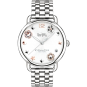 COACH Women's Delancy Watch With Charm Dial 36MM  14502811