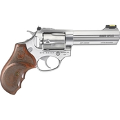 Ruger SP101 Match 357 Mag 4.2 in. Barrel 5 Rnd Revolver Stainless Steel