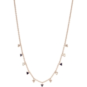 Fossil 18 In. Triangle Necklace