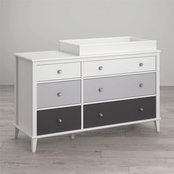 Little Seeds Monarch Hill Poppy 6 Drawer Changing Table