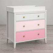 Little Seeds Monarch Hill Poppy 3 Drawer Changing Table