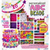 Just My Style ABC Beads Bead Kit