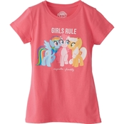 My Little Pony Girls Ponies Rule Tee