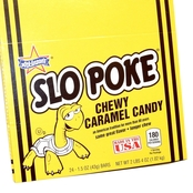 Slo Poke Candy Bars, 24 Bars