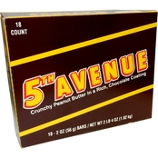 Fifth Avenue Candy Bars 18 ct.