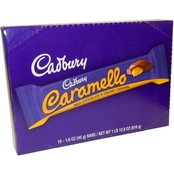 Cadbury Carmello Bars, 18 Bars.