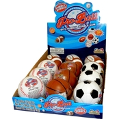 Pro Ball with Candy Assorted, 12 Pk.