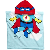 Vitamins Baby Toddler Boys 1 Pc. Hooded Super Hero Beach Towel Cover Up