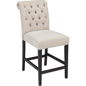 Signature Design by Ashley Tripton Upholstered Counter Stool 2 Pk.
