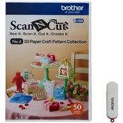Brother ScaNCut 3D Paper Craft Pattern Collection