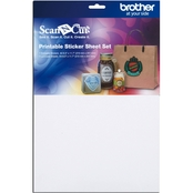 Brother ScaNCut Printable Sticker Sheet Set