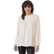 Kensie Luxury Crepe Top