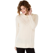 Kensie Cable Sweater