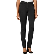 Style & Co Petite Faux-Pocket Slim-Fit Pants