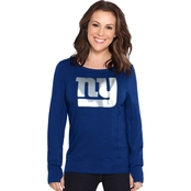 Touch by Alyssa Milano NFL New York Giants Women's Lateral Sweatshirt