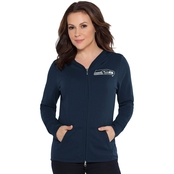 Touch by Alyssa Milano NFL Seattle Seahawks Tackle Hoodie