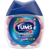 Tums Extra Strength Antacid Chewy Bites