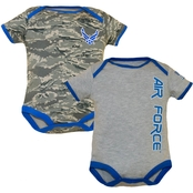 Trooper Clothing Infant Air Force Bodysuit 2 Pk.