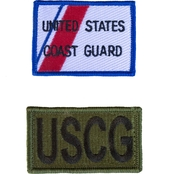 Trooper Clothing Kids Coast Guard Patch