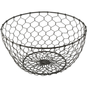 Thirstystone Galvanized Finish Wire Bowl