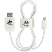 QuikVolt Navy Seabees Lightning USB Cable with QuikClip