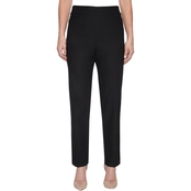Alfred Dunner Proportioned Short Knit Pants